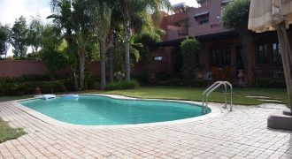 Marrakech Palmeraie Villa à vendre avec piscine privative