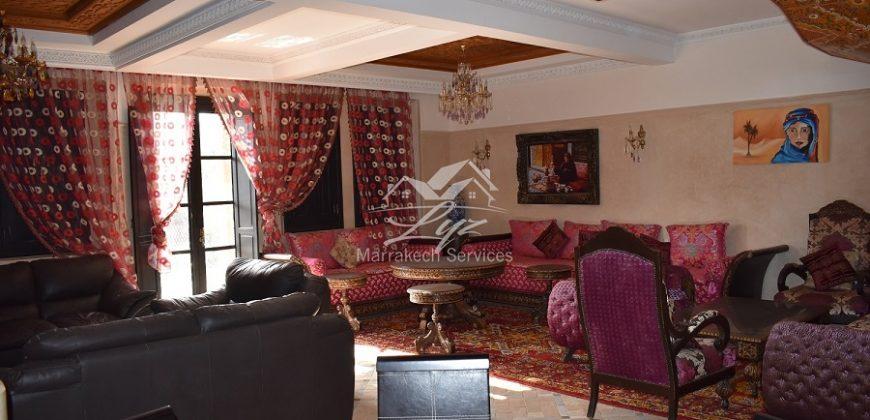 Marrakech Palmeraie villa meublée à louer