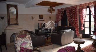 Marrakech Palmeraie villa meublée à louer en longue durée
