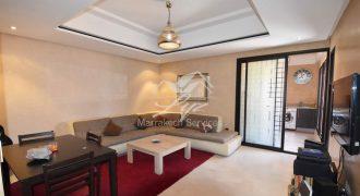 Marrakech-Guéliz, appartement à louer longue durée