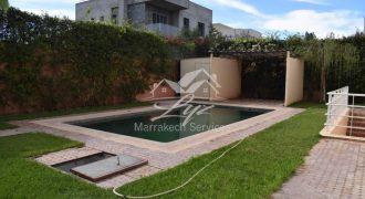 Marrakech route de Targa villa à vendre