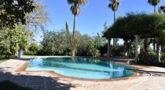 Marrakech route de l'Ourika villa à louer