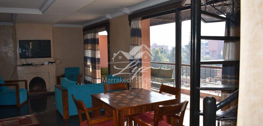 Duplex à louer sur Marrakech Hivernage