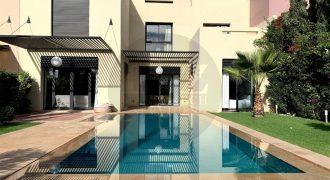 Marrakech Maaden villa maison à louer longue durée