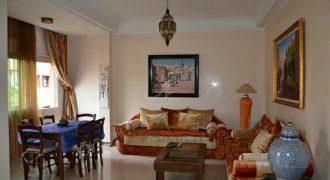 Marrakech Hivernage appartement à louer en longue dureé