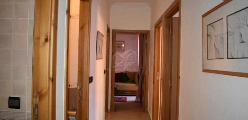 MARRAKECH ZHOR TARGA appartement meublé à louer, longue durée