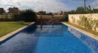 Marrakech villa à louer meublée avec piscine