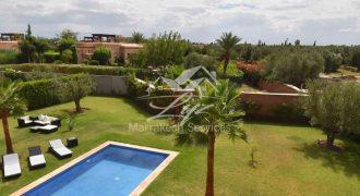 Marrakech route de Fès villa à vendre
