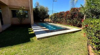 Magnifique villa à louer à Agdal 3 chambres meublée