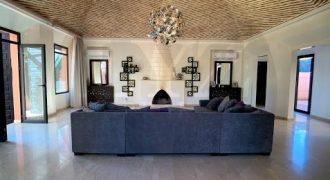 Marrakech Amelkis villa for rent