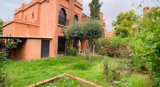 Villa a louer vide Route de Fez