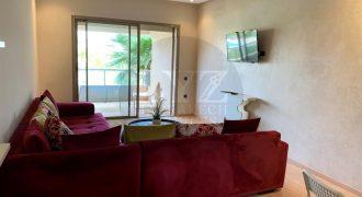 Bel appartement en location à Agdal. Surface de 95 m². Meublé