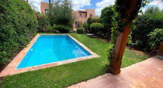 Marrakech magnifique villa à vendre route de l'Ourika