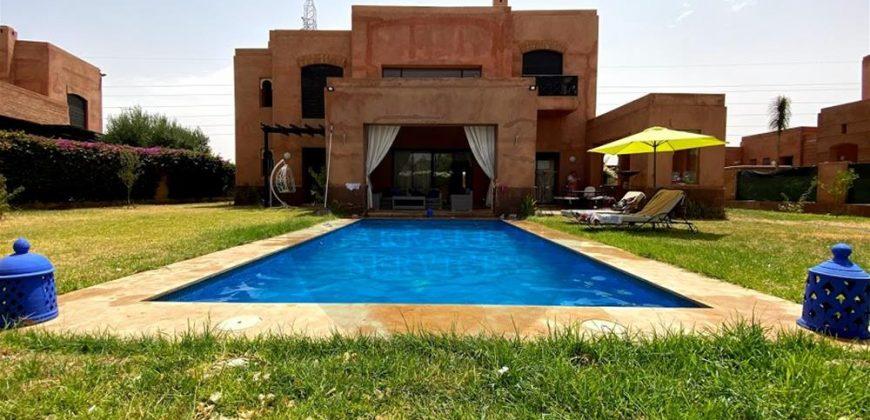 Somptueuse villa à louer Route de Fez