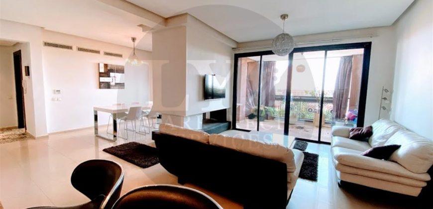 Marrakech-Appartement de haut standing en location à Guéliz