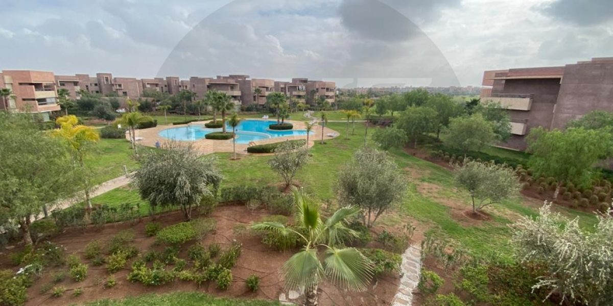 Appartement à vendre vue sur golf et piscine à prestigia
