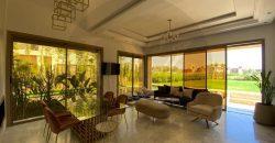 Villa contemporaine à vendre dans une résidence Golfique