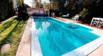 Villa en location longue durée à marrakech maaden