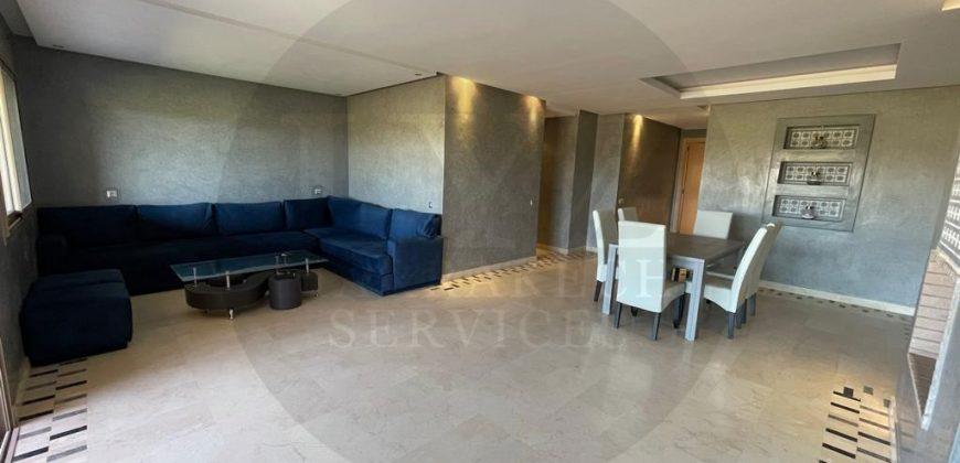 Bel appartement meublé front golf à la location longue à Prestigia