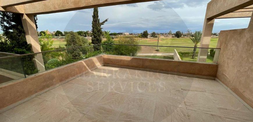 Magnifique villa à vendre à Agdal front golf