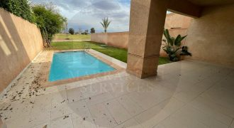 Magnificent villa for sale in Agdal front golf