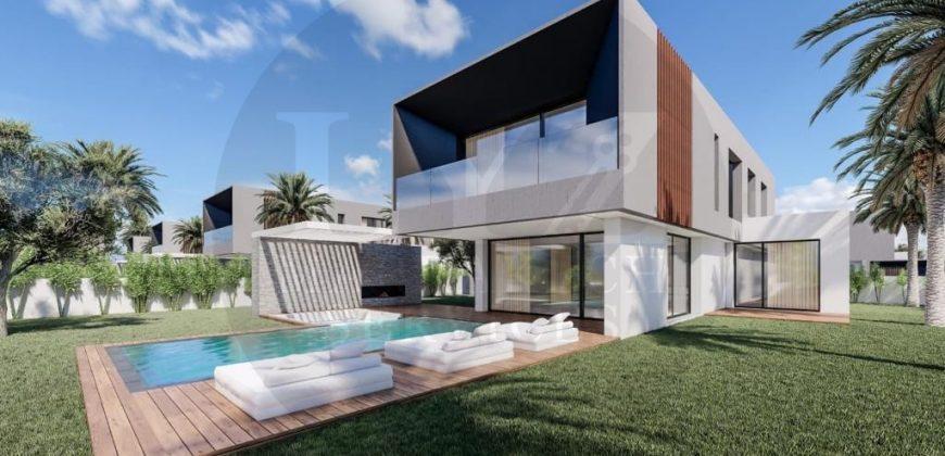 Route de Amezmiz villas neuves modernes à la vente