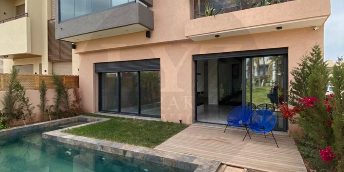 Contemporary villa for sale at Route Amizmiz golf