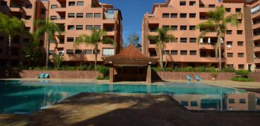 Marrakech-Apartment for sale in Hivernage residence with swimming pool
