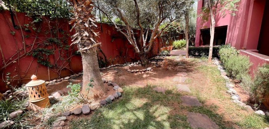 Marrakech Agdal bel appartement rez de jardin à vendre